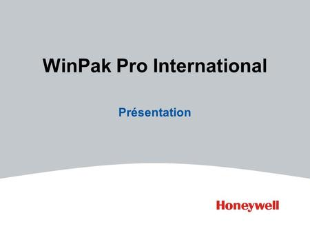 WinPak Pro International