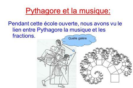 pythagore musique