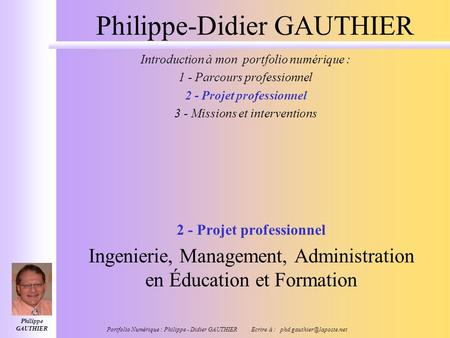 Philippe-Didier GAUTHIER