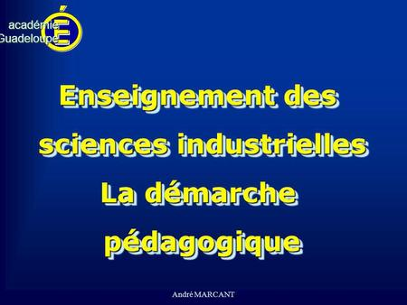 sciences industrielles