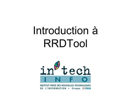 Introduction à RRDTool