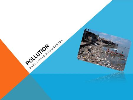 Pollution Par: Chris Baumgartel.