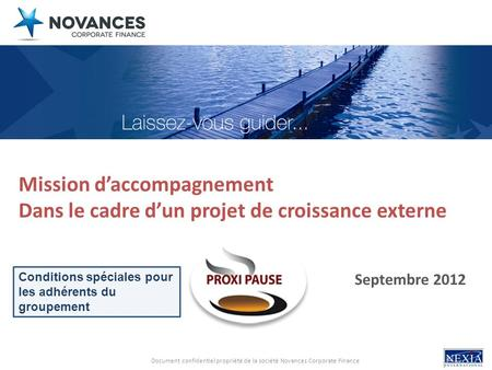 Mission d'accompagnement
