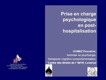 Prise en charge psychologique en post-hospitalisation