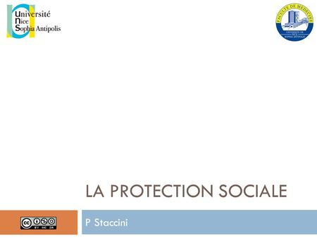LA protection sociale P Staccini.
