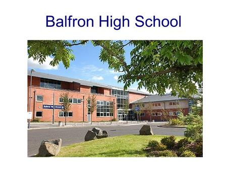 Balfron High School.