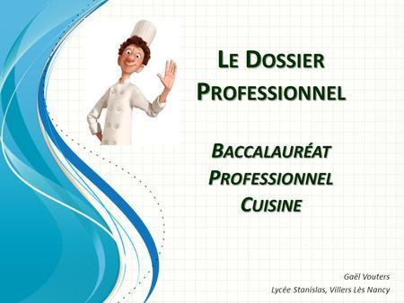 L preuve commune tipe ads pr paration epreuve commune tipe ads ads ppt t l charger - Coefficient bac pro cuisine ...
