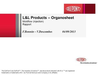 L&L Products – Organosheet