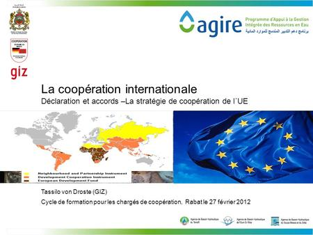 La coopération internationale
