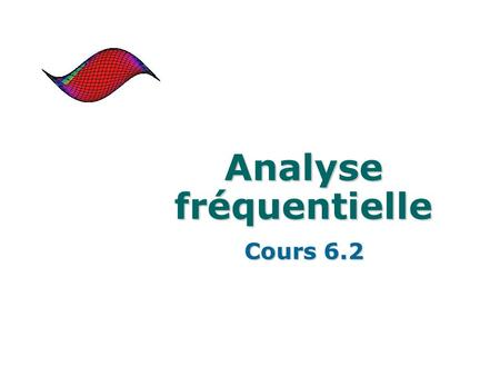 Analyse fréquentielle