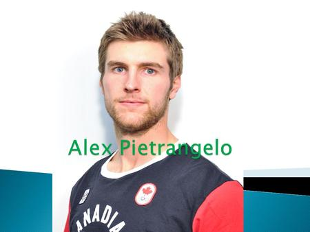 Alex Pietrangelo.
