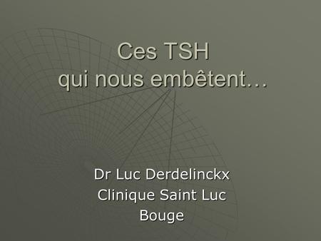 Séméiologie des thyrotoxicoses : - ppt video online télécharger