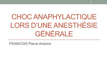 Gilles chauvin anesthesiste