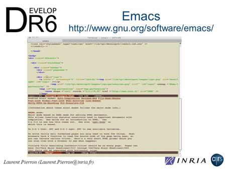 Emacs  Laurent Pierron