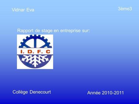 Pr sentation du stage en entreprise ppt video online for Garage renault evry