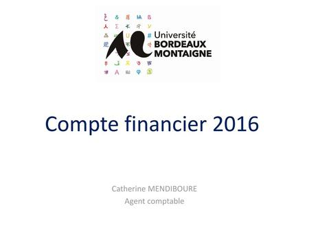 Catherine MENDIBOURE Agent comptable