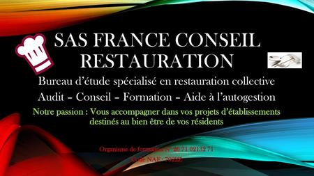 SAS France Conseil Restauration
