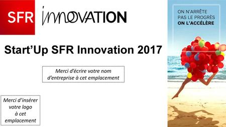 Start'Up SFR Innovation 2017