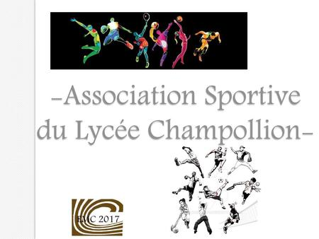 -Association Sportive du Lycée Champollion-