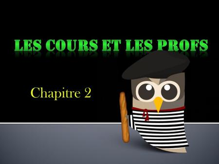 Chapitre 2. Laccorde des noms, adjectifs, et verbes As you have already learned, in French, articles must agree with the nouns that they modify both in.