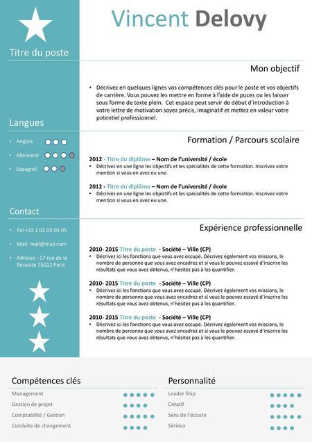 alicia doe titre du poste recherch u00e9 experience langues