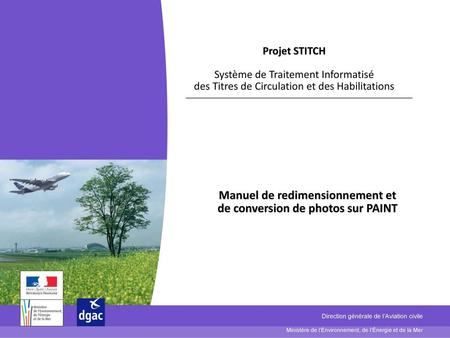 Manuel de redimensionnement et de conversion de photos sur PAINT