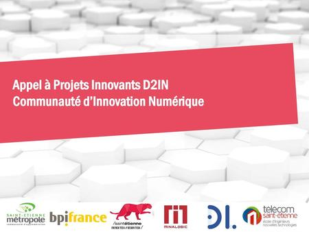 Appel à Projets Innovants D2IN
