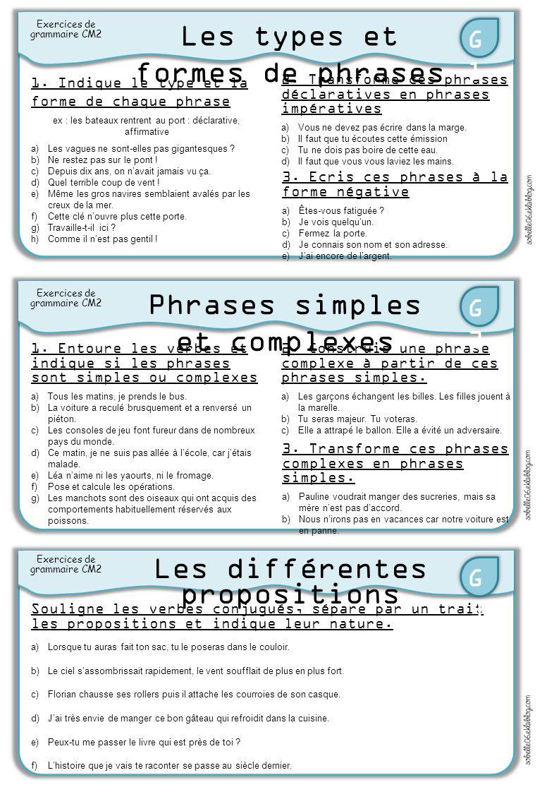 Les Types Et Formes De Phrases Ppt Video Online Telecharger