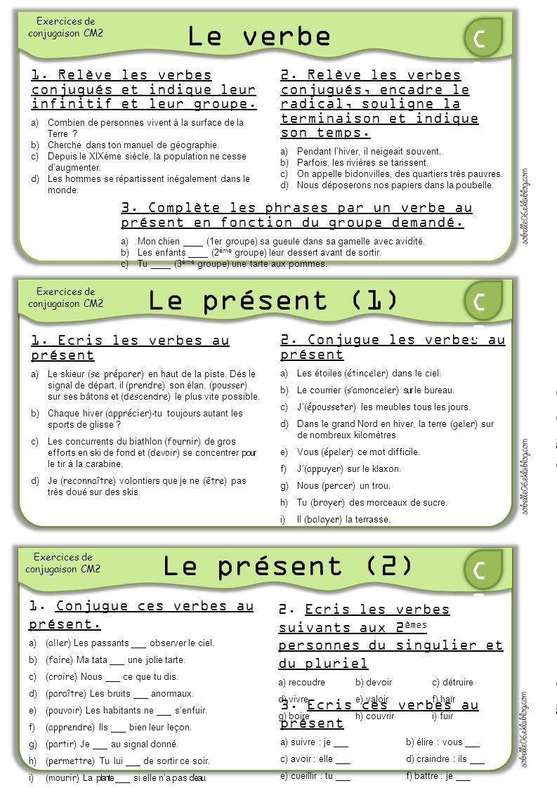 Le Verbe Le Present 1 Le Present 2 C1 C2 C3 Ppt Video Online Telecharger