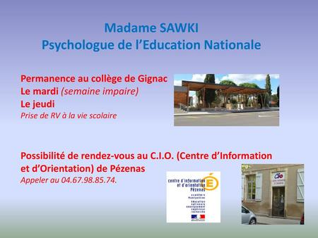 Psychologue de l'Education Nationale