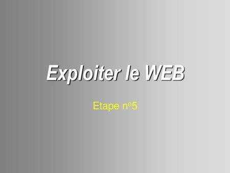 Web IpPpt Internet RechercheServeur Adresse Principes De OuXPTkZi