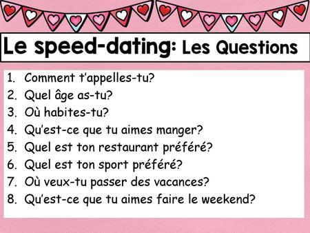 Speed Dating Prague anglais secrets de rencontres en ligne comme révélé par les majors mathématiques
