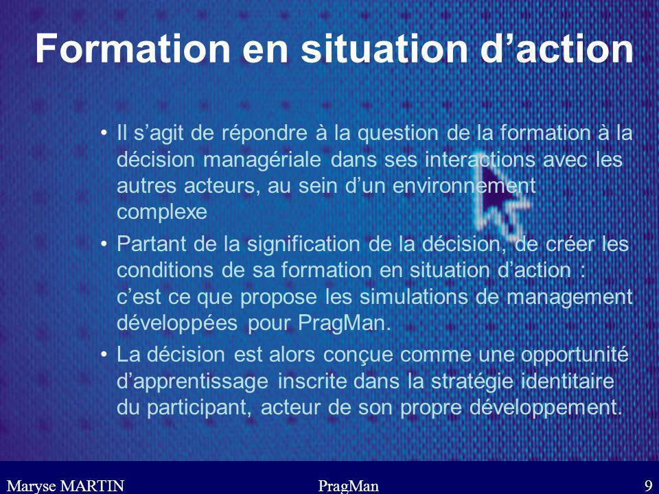 Formation en situation d'action