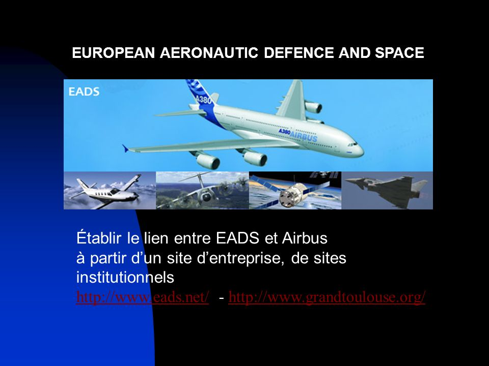 EUROPEAN AERONAUTIC DEFENCE AND SPACE