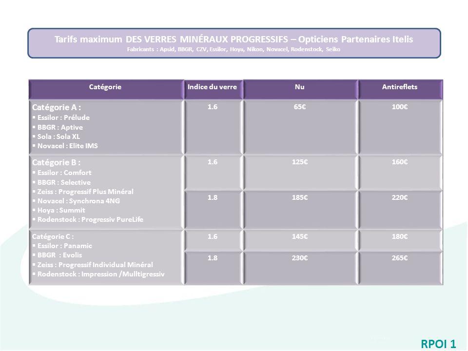 9c331613f26ee Tarifs maximum DES VERRES MINÉRAUX PROGRESSIFS – Opticiens Partenaires  Itelis