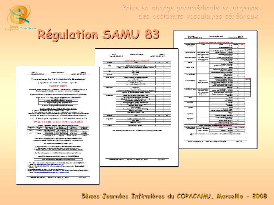 Régulation SAMU 83