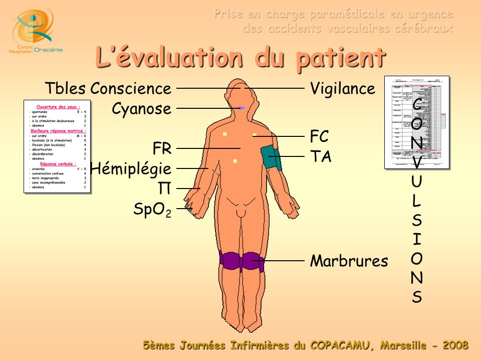 L'évaluation du patient