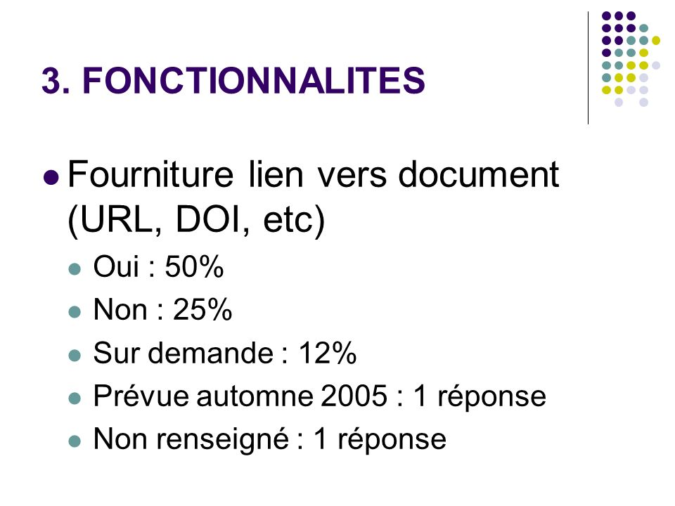 Fourniture lien vers document (URL, DOI, etc)