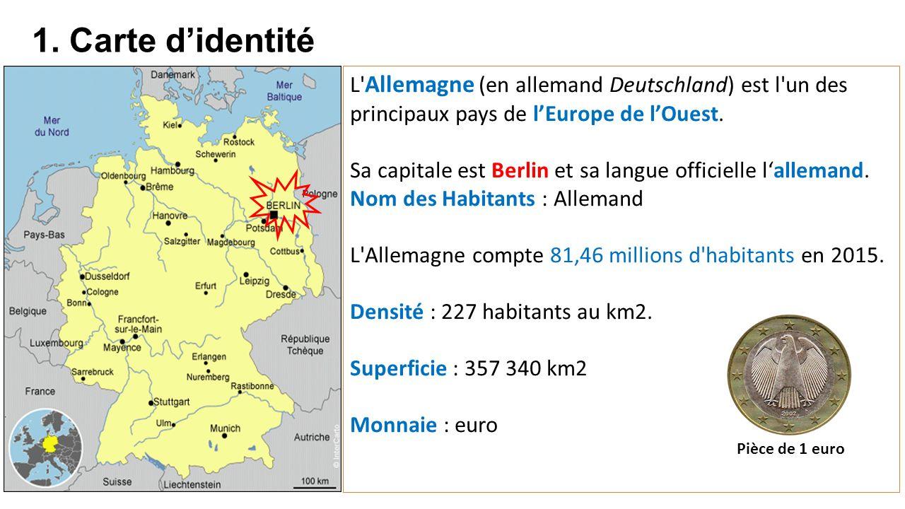 Carte Allemagne De Louest.Expose Presente Par Capucine Et Maela Ppt Telecharger