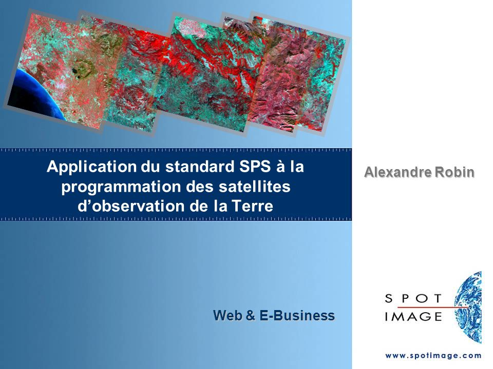 Application du standard SPS à la programmation des satellites d'observation de la Terre