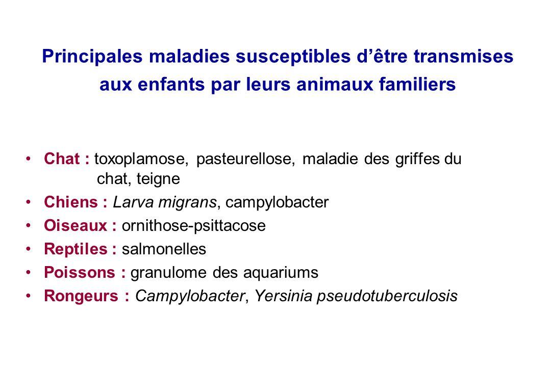 Infections transmises aux enfants par les animaux de compagnie Agnès ...