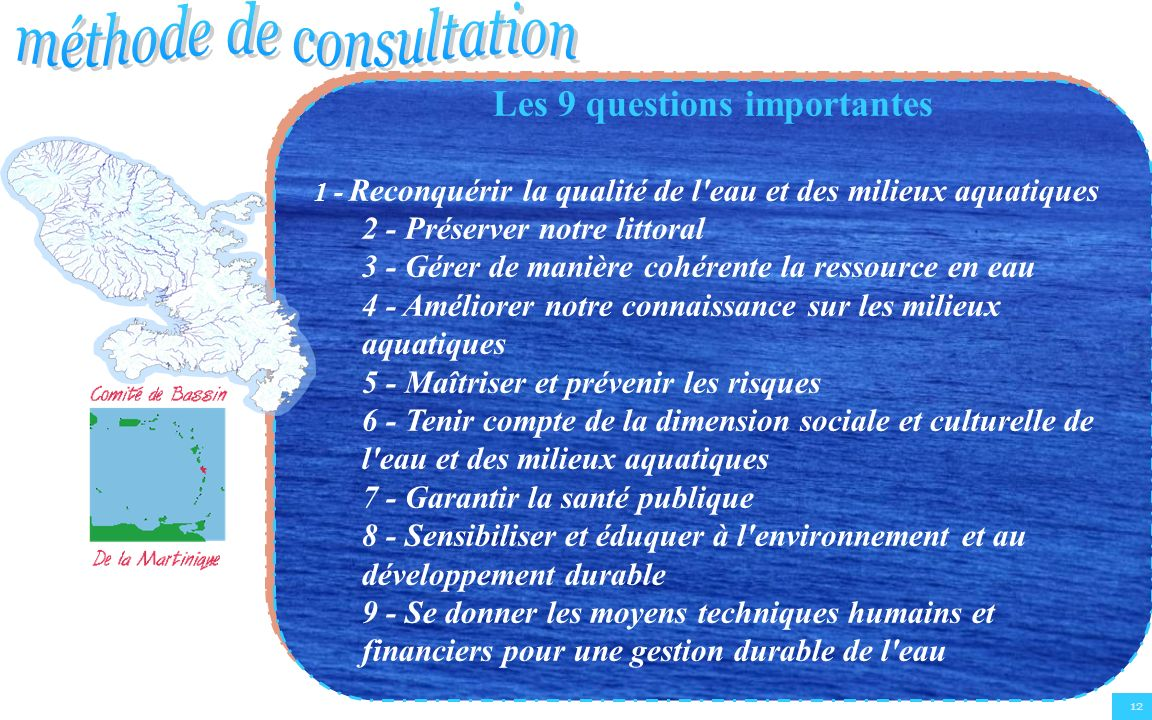 Les 9 questions importantes