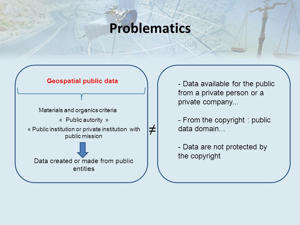 Geospatial public data