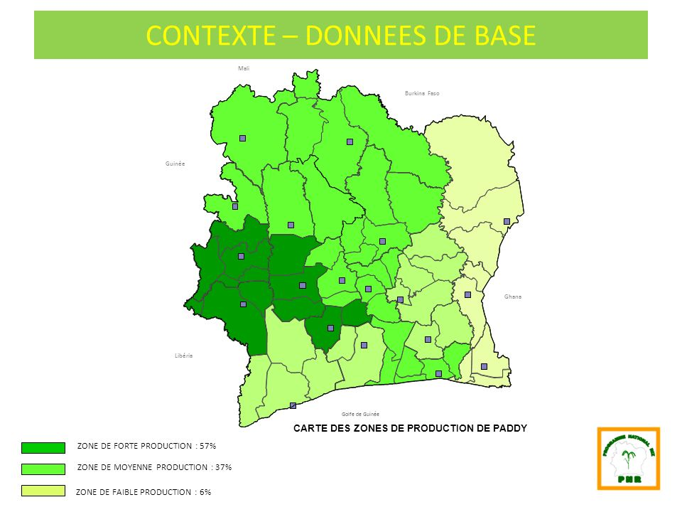CONTEXTE – DONNEES DE BASE