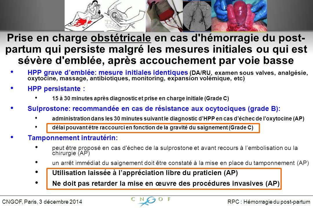 endométrite post partum cngof
