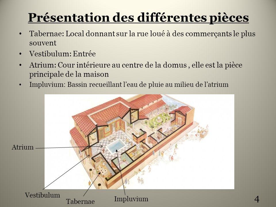 la maison romaine la domus ppt video online t l charger. Black Bedroom Furniture Sets. Home Design Ideas