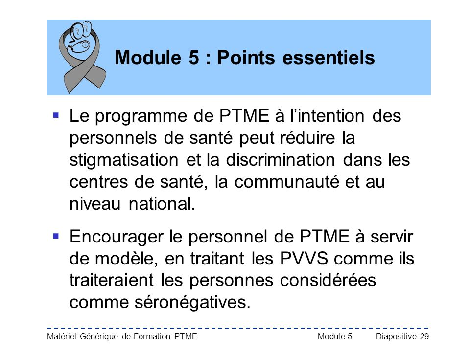Module 5 : Points essentiels