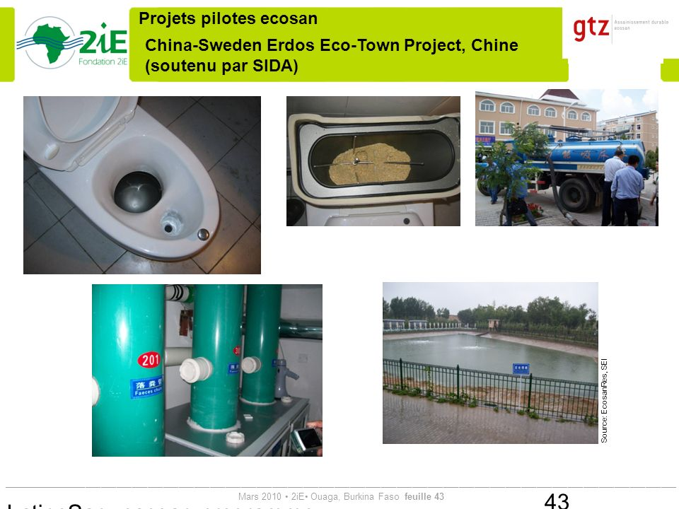 China-Sweden Erdos Eco-Town Project, Chine (soutenu par SIDA)