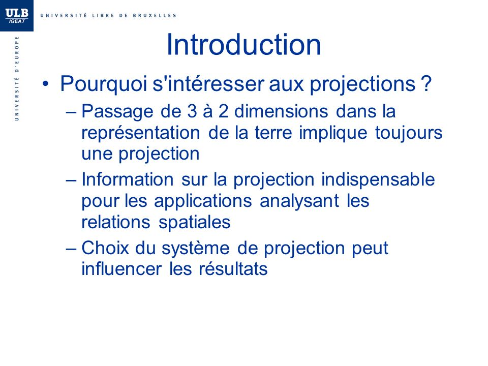 projection mercator formule