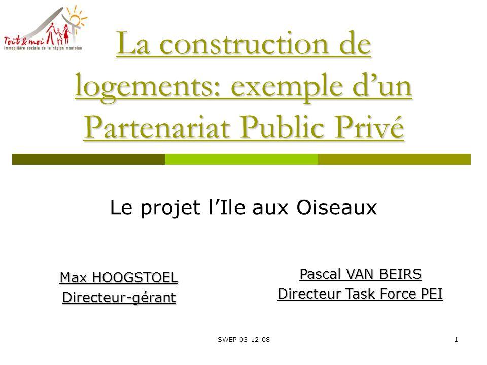 La Construction De Logements Exemple D Un Partenariat Public Prive